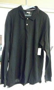 Men's Basic Editions long sleeve Polo shirt